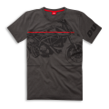 Shirt Ducati Red Line  - PROMO