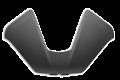 Cover grey per bauletto top case in plastica per Ducati Multistrada V4