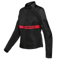 Giacca tessuto Dainese Ribelle black red lady