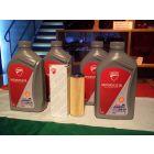 Kit 4 litri olio Ducati 15w 50 e filtro originale per Panigale 1299 1199 899 959 V4 V2