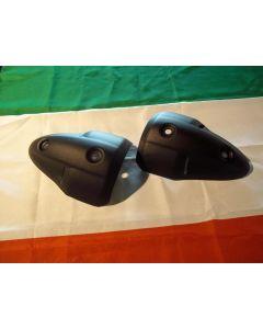 Protezioni laterali alluminio nero silenziatori Ducati Monster 696 796 1100 - promo