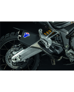 Kit scarico completo racing con Up map per Ducati Multistrada 1260 Enduro ( con silenziatore nero opaco ) - contattarci per la disponibilita'