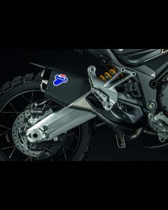 Kit scarico completo racing con Up map per Ducati Multistrada 1200 Enduro ( con silenziatore nero opaco ) - promo