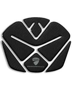 Adesivo protezione serbatoio trama carbonio per Ducati Diavel 1200