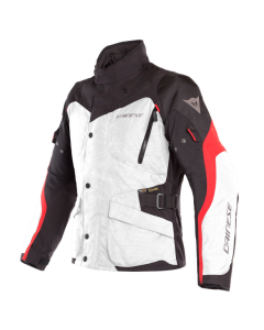 Giacca D Dry Dainese Tempest 2 light gray black tour red tg 50