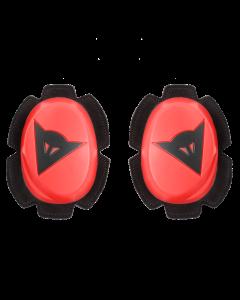 Slider saponette Dainese pista knee fluo red black