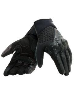 Dainese guanti unisex X-Moto pelle e tessuto black antracite - promo