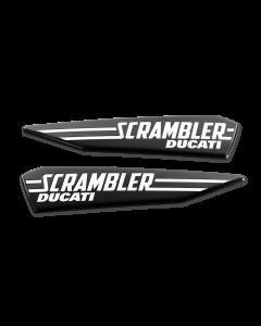 Adesivi laterali serbatoio Ducati Scrambler Icon - contattarci per la disponibilita'