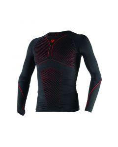 Maglia Dainese D Core Thermotee Ls Black red