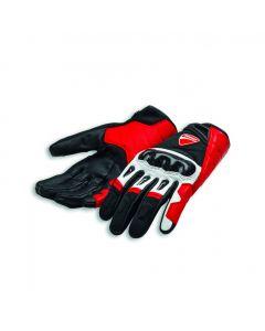 Guanti Ducati Alpinestars Company C1 rosso nero bianco