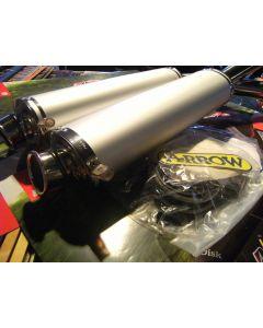 Terminali silenziatori Arrow in alluminio 50 mm Ducati 748 SPS/R  916 SPS/SP 996 SPS/R 998 R  - promo