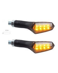 COPPIA FRECCE A LED OMOLOGATE LIGHTECH CON RESISTENZE