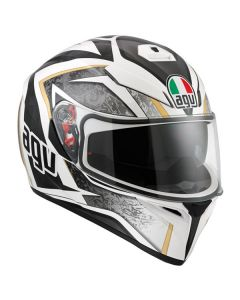 Casco integrale K3 Agv Sv Multi Vulcan white black gunmetal - promo