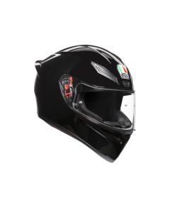 Casco Integrale Agv K1 solid black red