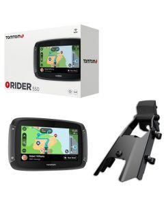 Kit navigatore Tom Tom Rider 550 Premium con attacco specifico per Ducati Multistrada 1200 Dvt 1260 950 V2 ed Enduro 1200 1260