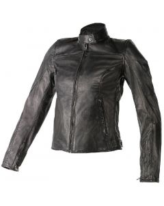 Giacca pelle Dainese Mike Lady nero - promo