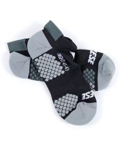 Calze Dainese D Core footie sock nero antracite