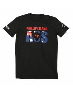 Shirt Dainese Philip Island D1 black - promo