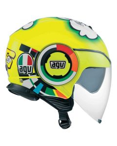 Casco Jet Agv fluid top Misano - promo