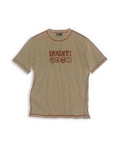 Shirt ducati billboard sabbia uomo - promo