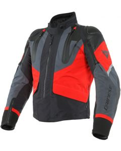 Giacca Dainese gore tex Sport master black lava  red ebony
