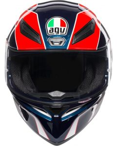 Casco integrale Agv K1 Multi Pitlane blue red yellow