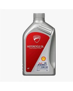 OLIO SHELL ADVANCE DUCATI 4T ULTRA 15W-50 1 LT 100% SINTETICO