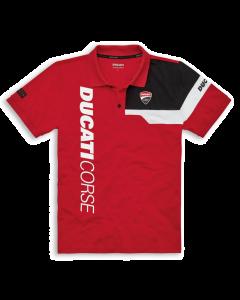 Polo Ducati Corse track 21 rosso