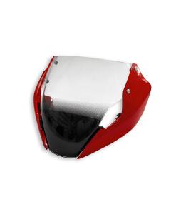 Cupolino sport rosso per Ducati Monster 797 e 821 dal 2018