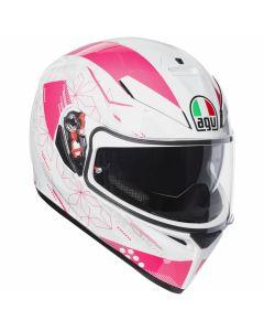 Casco integrale Agv K3 Sv multi Izumi white pink -promo