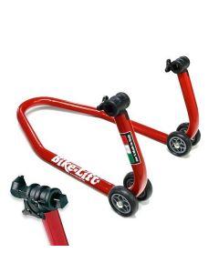 Cavalletto posteriore professionale Bike lift BIBRACCIO con tamponi
