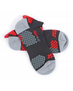 Calze Dainese Motorbike footie sock rosso grigio nero