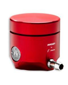 Serbatoio liquido freno anteriore rosso Ducati by Rizoma per Ducati Supersport