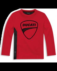 Shirt Ducati Sarabanda rossa bambino kid