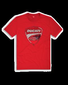 Shirt Ducati Corse 17 graphic red