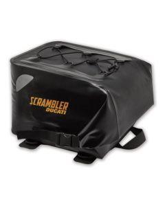 Borsa da sella posteriore nera per Ducati Scrambler