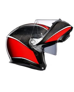 Casco Agv Sportmodular multi aero carbon red - promo