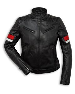 Giacca pelle Ducati Urban Stripes Lady