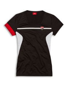 Shirt Ducati Corse 19 black power lady