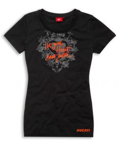 Shirt Ducati Red Shock lady - PROMO