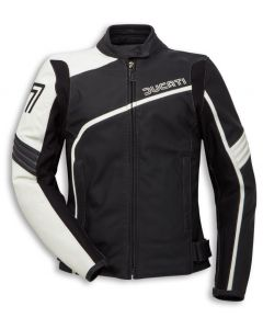 Giacca Ducati pelle Lady 77