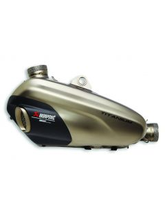 Silenziatore doppio Omologato Akrapovic per Ducati Panigale V4 V4S e Streetfighter V4 Euro 4 fino al 2020 - CONTATTARCI PER LA DISPONIBILITA' -