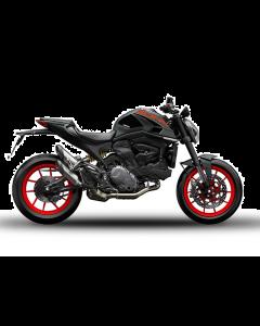 Adesivi Ducati Corse nero per Ducati Monster 937