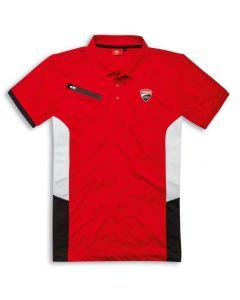 Polo Ducati Corse power rossa