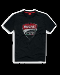 Shirt Ducati Corse 17 graphic black