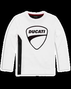 Shirt Ducati Sarabanda bianca bambino kid