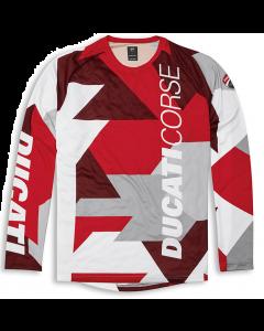 Shirt bici Mtb Ducati Corse manica lunga