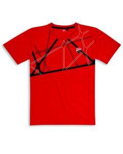 Shirt Ducati Corse 19 Graphic red