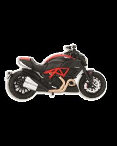 Modellino moto Ducati Ducati Diavel Carbon red