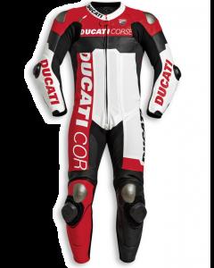 Tuta in pelle traforata Dainese Ducati Corse C5